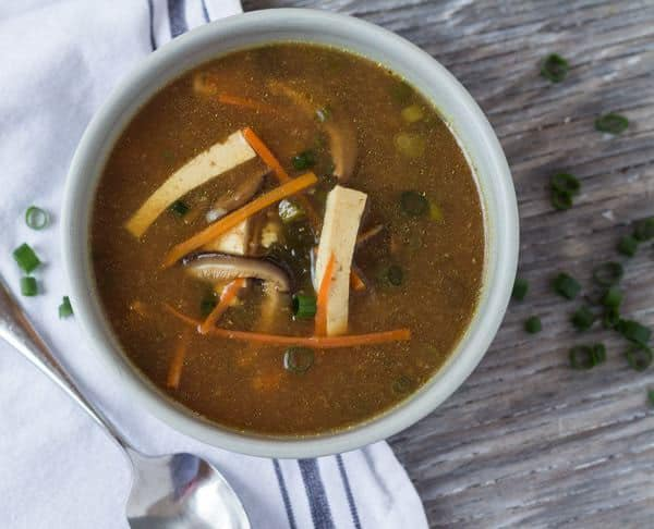Hot and Sour Miso Soup