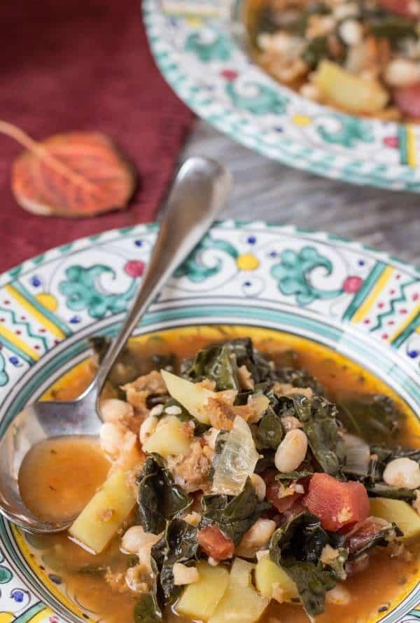Portuguese Kale and Potato Soup