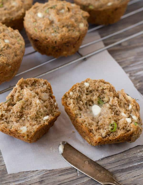 Savory Cottage Cheese Dill Muffins