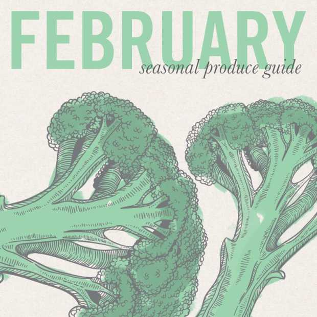 February Eat Seasonal Guide