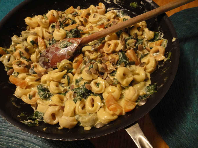 Recipe goat cheese pasta sauce