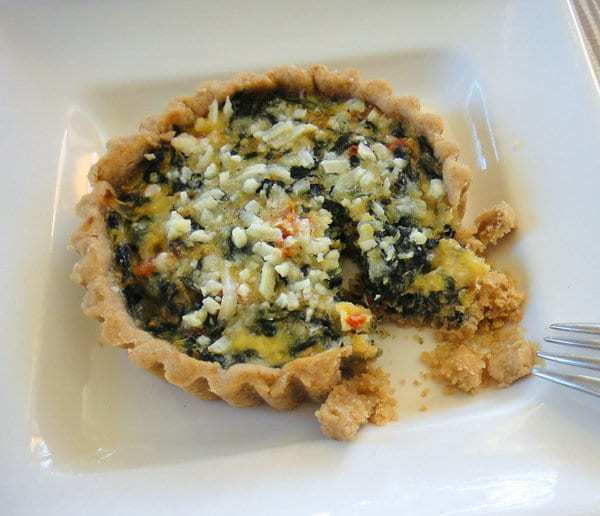 Spinach and Blue Cheese Tart | Letty's Kitchen
