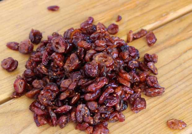 cranberries for Pumpkin Cranberry Coffee Cake