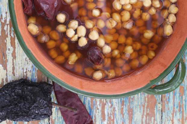 cooked Garbanzo Beans How to Cook Garbanzo Beans in a Pressure Cooker