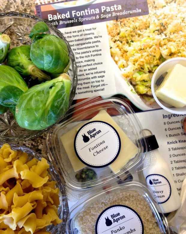 Three Vegetarian Dinners + Blue Apron Box