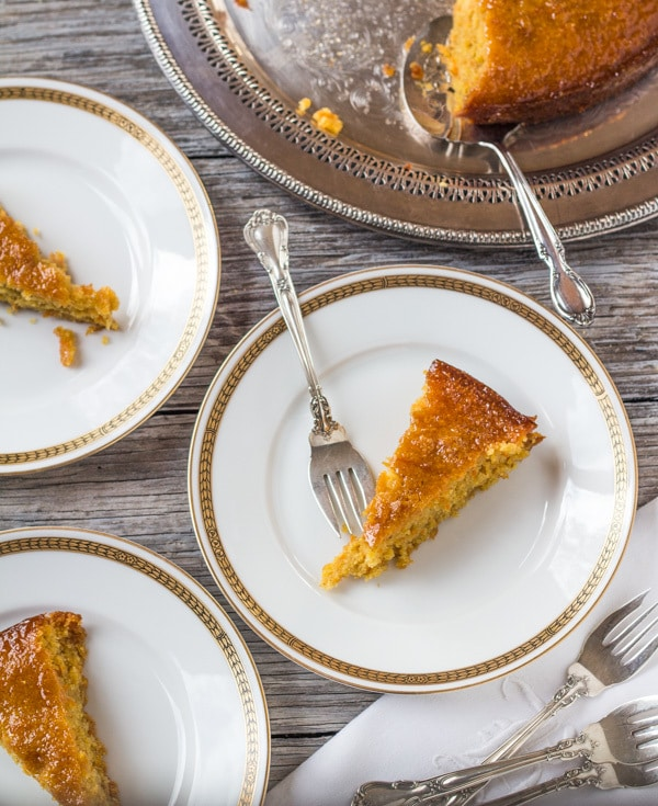 Gluten Free Orange Almond Honey Cake