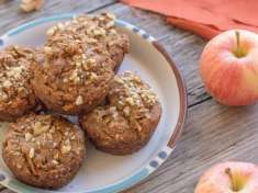 Apple Cinnamon Quinoa Muffins, vegan and gluten-free | Letty's Kitchen