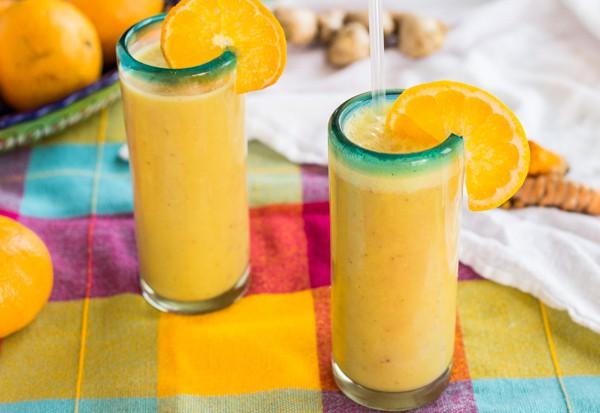 Healthy Tangerine Julius Smoothie | Letty's Kitchen