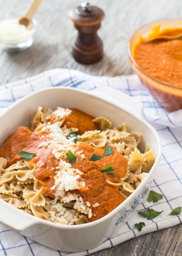 Quick and Easy Tomato Carrot Marinara Sauce | Letty's Kitchen