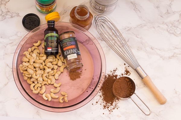 ingredients for Chocolate Honey Pie with Cinnamon Graham Crust | Letty's Kitchen