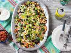 Tex-Mex Roasted Potato Nachos (Vegetarian)