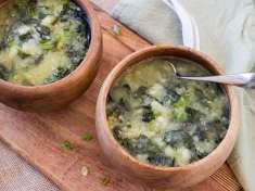 Instant Pot Irish Potato Kale Soup