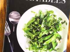 Vegetables: Inspired Recipes and Tips—a Martha Stewart cookbook.