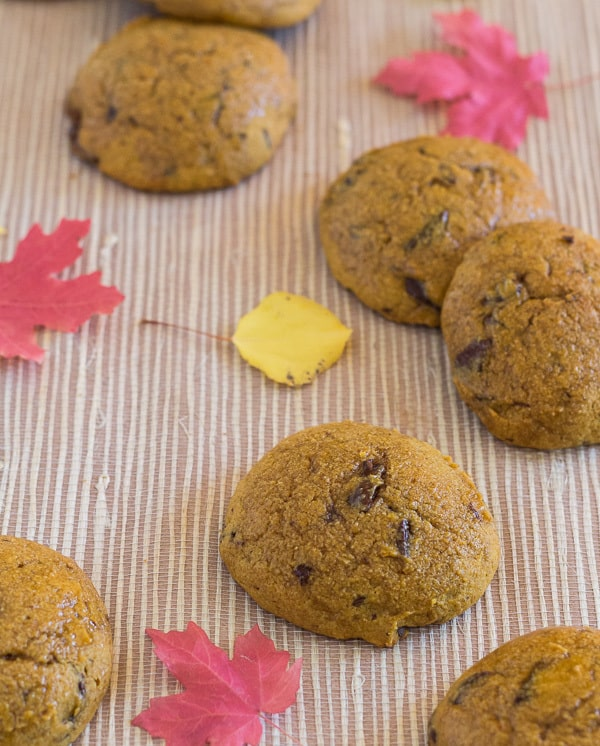 Pumpkin Spice Chocolate Chip Cookies | Letty's Kitchen