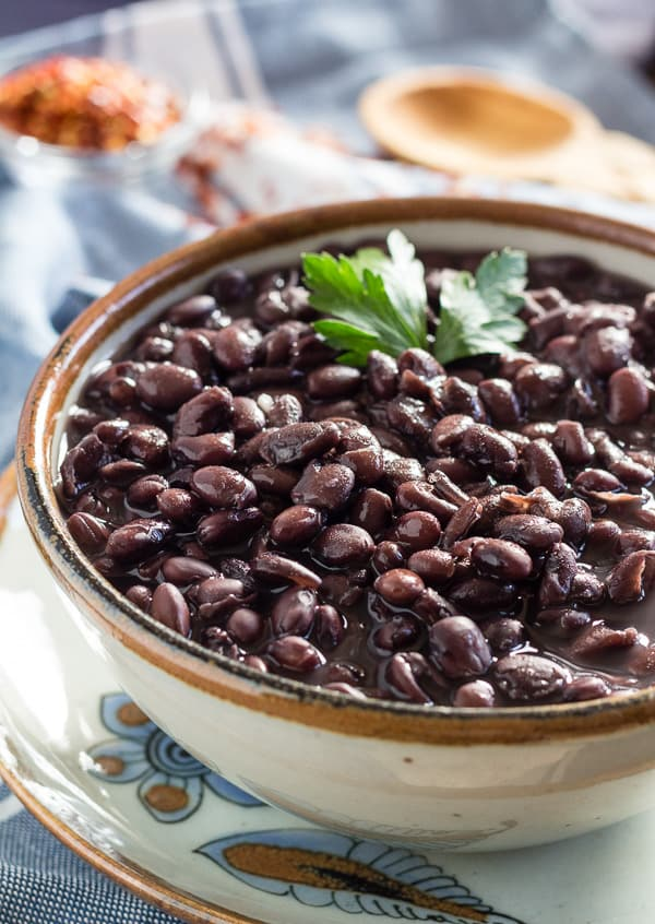 How to Cook Black Beans in a Pressure Cooker   Letty's Kitchen