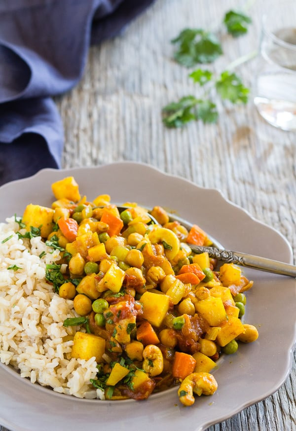 Potato Chickpea Curry with Pineapple | Letty's Kitchen