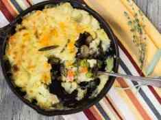 Vegan Shepherd's Pie with Savory Mushroom Gravy