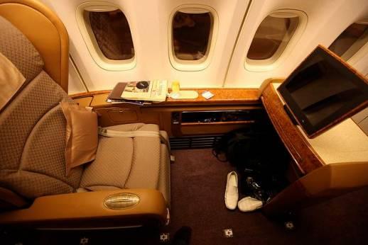 Prima classe in aereo