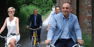 Per Lucca turismo slow a 2 ruote