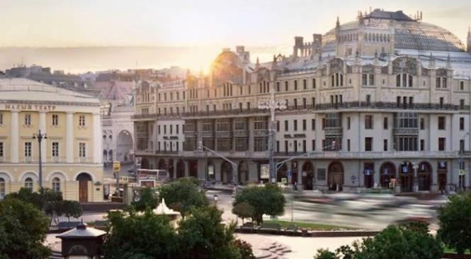 Il restyling dell'Hotel Metropol di Mosca