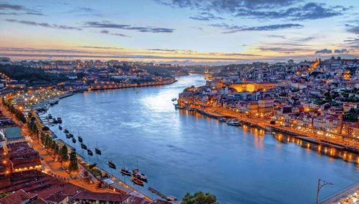 Panorama di Porto