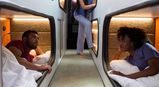 Cabin bus: viaggiare e dormire in pullman