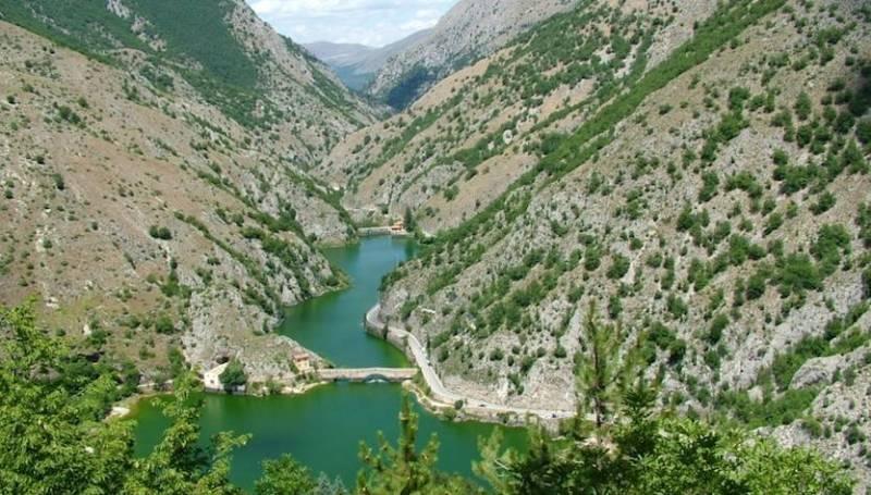Gole del Sagittario Abruzzo