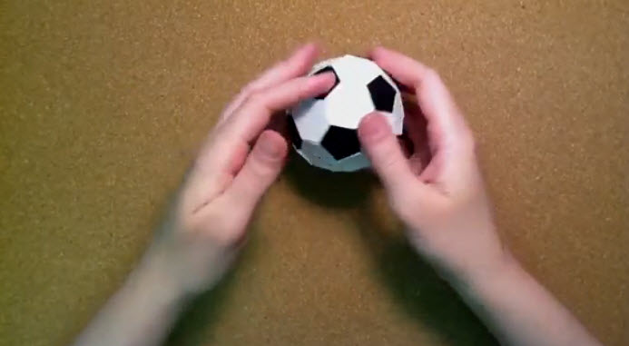 origami pokemon diagram kwh meter wiring the gallery for --> how to make a paper soccer ball