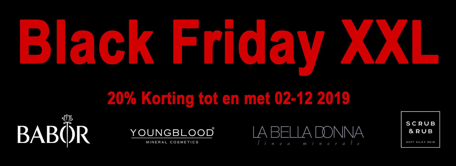 Black Friday XXL 20% Korting