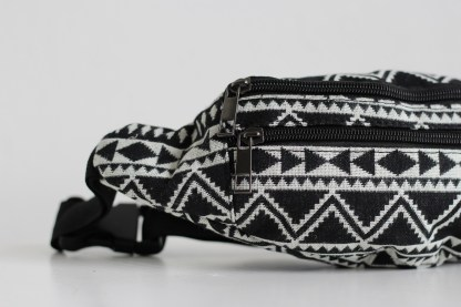 Fanny Pack Aztec Abstract Detail