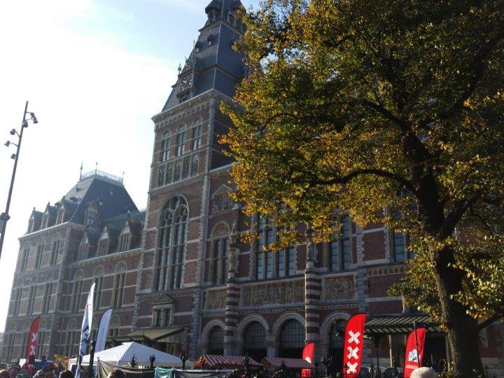 Het Rijksmuseum.