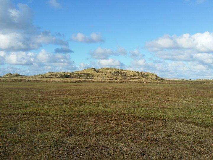 Fraai uitzicht over het eiland.