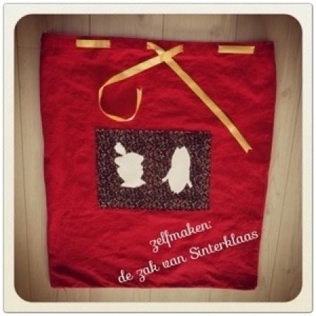DIY: de zak van Sinterklaas zelfmaken