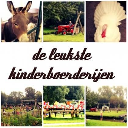 Leuke kinderboerderijen in heel Nederland