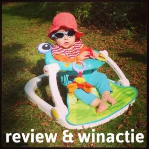 Review + winactie: Fisher Price vloerstoeltje om te leren zitten