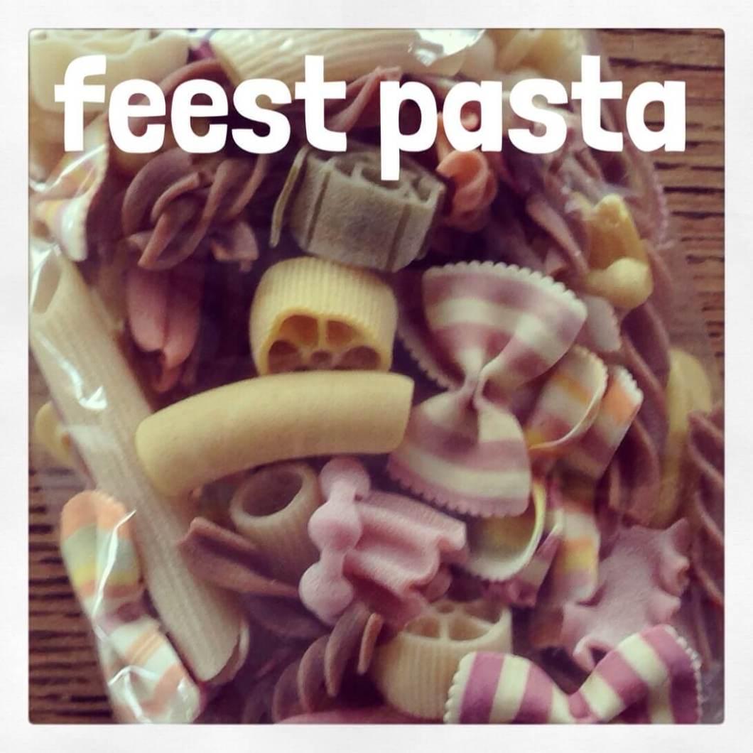 Feest pasta voor kinderen