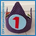 Een zelfgemaakte verjaardagskroon die je elk jaar kunt gebruiken