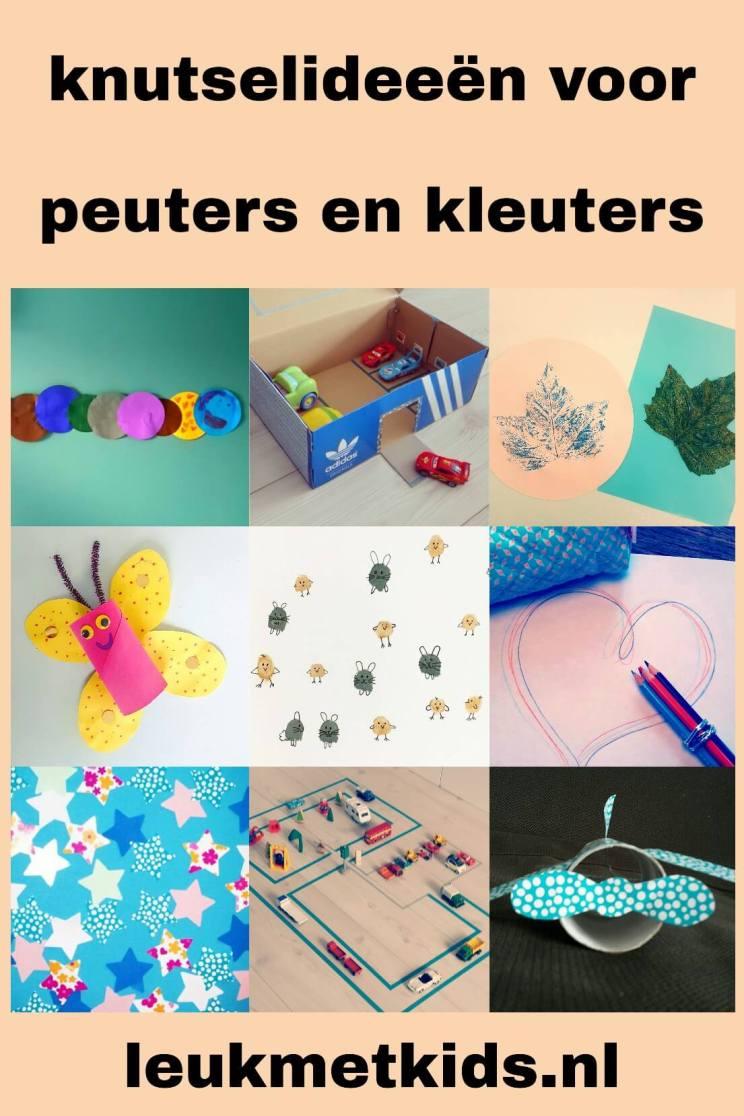 Beste Ideeën om te knutselen met peuter en kleuter - Leuk met kids EF-41
