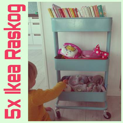 ideeën met de Ikea raskog trolley rolkar