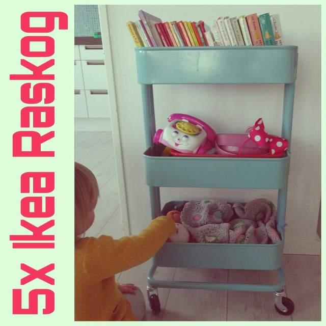Wat je allemaal kunt doen met dat leuke rolkarretje van Ikea: vijf ideeën