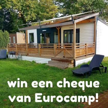 Win een Eurocamp bon ter waarde van 200 euro