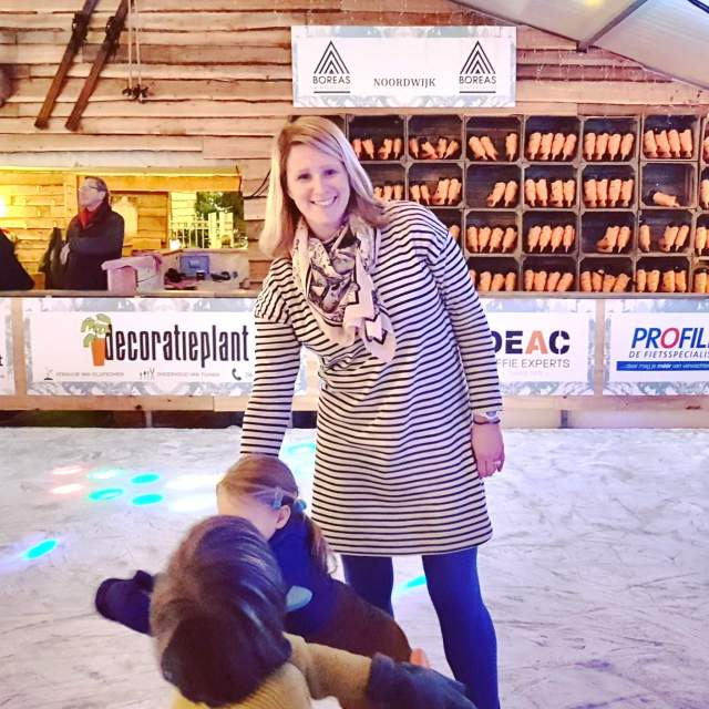 Schaatsen, spelletjes doen en lekker eten aan zee bij Winter Wonderland