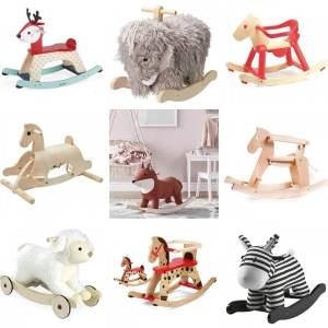 Baby verjaardag: cadeau ideeën voor kinderen van 1 jaar - karretjes en hobbelpaarden