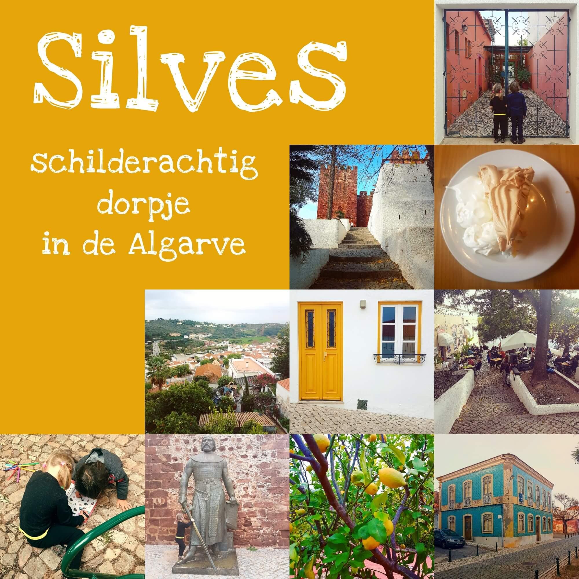 Algarve met kids: het binnenland in naar het schilderachtige dorpje Silves met indrukwekkend fort