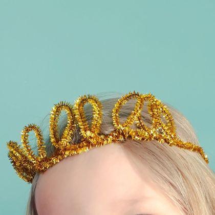 Kroontje knutselen voor vaderdag of moederdag