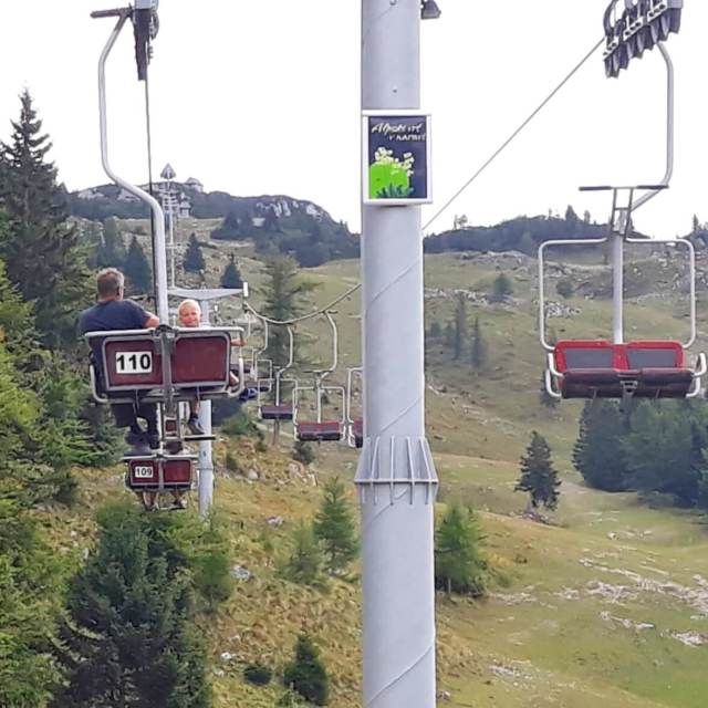 Vakantie in Slovenië met kids, Outdoor Paradijs! Klimmen met kinderen, Velika Planina berg