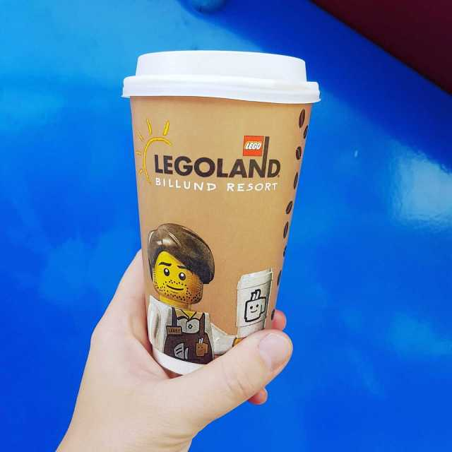 koffie in Legoland