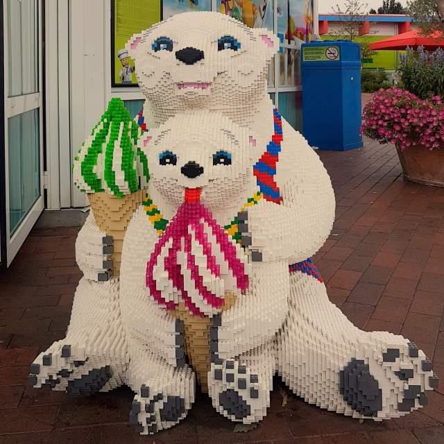 LEGO ijsjes in Legoland