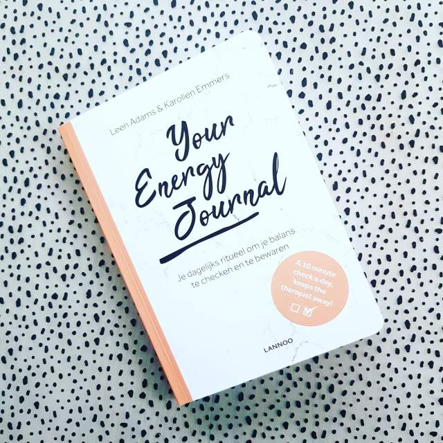 Boekentip voor jou: Your Energy Journal