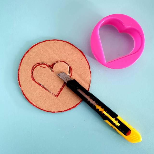 Knutselen voor Valentijnsdag: hartje van wol